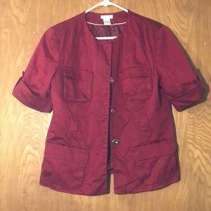 Women's Worthington Red Coat
